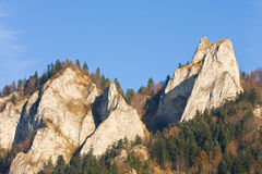 Three Crowns - Pieniny, Poland Stock Photos