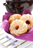 Three cruller Stock Photography