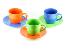 Three Cups Stock Photo