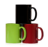 Three cups Royalty Free Stock Photos