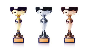 Three cups Royalty Free Stock Images