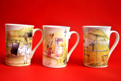 Three cups Royalty Free Stock Photo