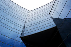Three curve arc glass walls Stock Photography
