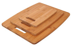 Three cutting boards Stock Images
