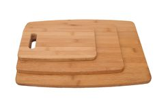 Three cutting boards Stock Photo