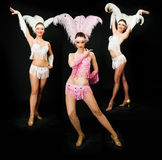 Three dancers Stock Photography