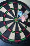 Three darts Royalty Free Stock Photos