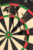 Three Darts Royalty Free Stock Photo
