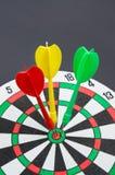 Three darts Stock Images