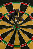 Three darts Royalty Free Stock Photography