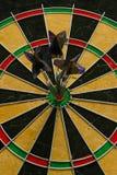 Three darts royalty free stock photography