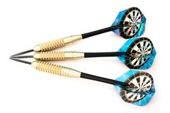 Three darts Royalty Free Stock Image