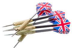 Three darts Stock Image