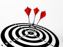 Free Three Darts On Bulls Eye Stock Photo - 12672240