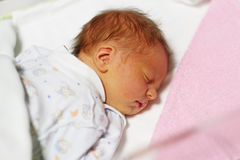 Three days old newborn baby Royalty Free Stock Images