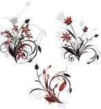 Three Decorative Bouquets Royalty Free Stock Image