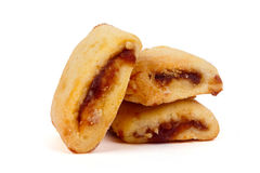 Three delicious cookies Royalty Free Stock Images