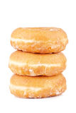 Three delicious donuts Royalty Free Stock Image