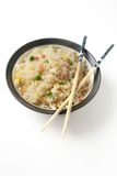 Three delights chinese rice Stock Photos