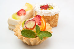 Three Dessert Selection Stock Photography