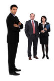 Three business colleagues Royalty Free Stock Image