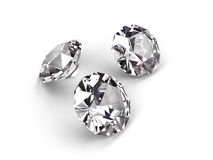 Three diamonds Royalty Free Stock Photos
