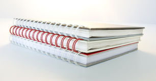Three Diary Books Stock Photos