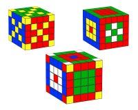 Three dice Stock Image