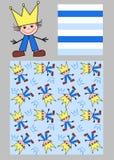 three different patterns stock photos