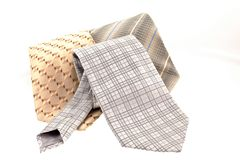 Three different ties Royalty Free Stock Photography