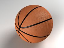 Three dimensional basketball Royalty Free Stock Photo