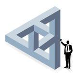 Three-dimensional construction Royalty Free Stock Photos