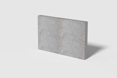 Three-dimensional grey wall Royalty Free Stock Photo