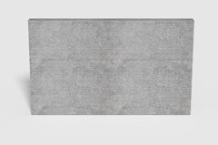 Three-dimensional grey wall Stock Images