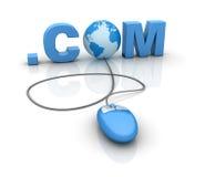 .COM Royalty Free Stock Photography