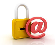 Email Security Royalty Free Stock Images