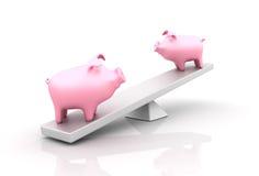 Saving Balance Royalty Free Stock Photos