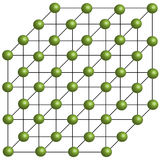 Three Dimensional Molecule Model Royalty Free Stock Image