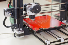 Three dimensional printer. Ready to be used Royalty Free Stock Photography