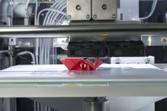 Three dimensional printing machine Stock Photos