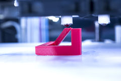 Three dimensional printing machine Royalty Free Stock Image