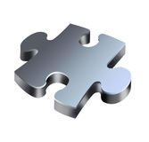 Three-dimensional puzzle Stock Images
