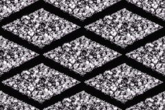 Seamless patterns of diamonds royalty free stock images