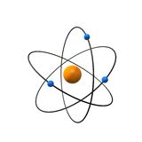 3d atom Royalty Free Stock Photos
