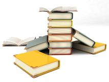 Three Dimensional Scattered And Pileup Notebooks Royalty Free Stock Images