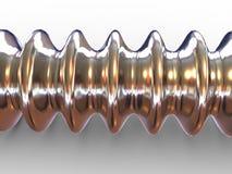 Three-dimensional tube. 3d Royalty Free Stock Photos