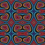 Three-dimensional volumetric seamless pattern. Vector Royalty Free Stock Photo