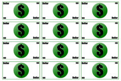 Money 3D Royalty Free Stock Images