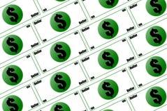 Money 3D Stock Photo