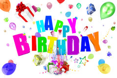 Birthday 3D Stock Images